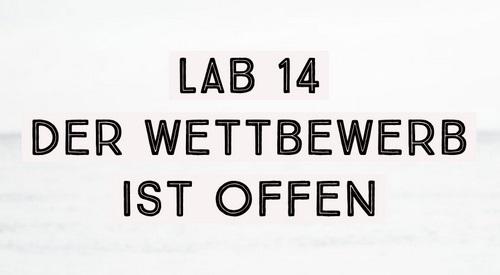 Fotowettbewerb Lab.14