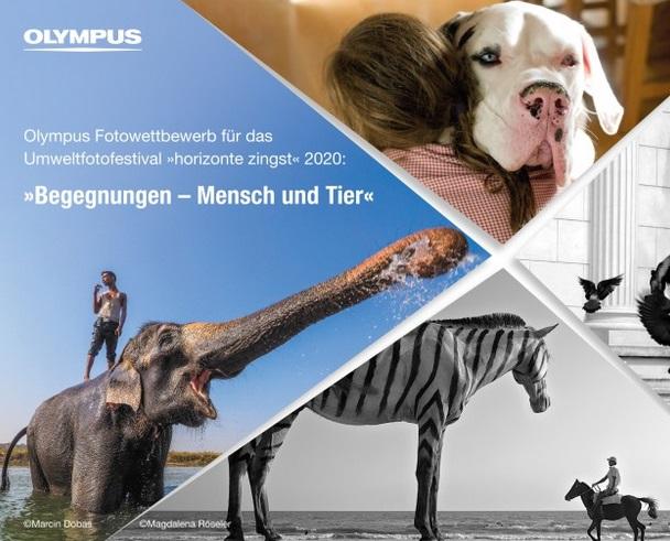 Olympus Fotowettbewerb: Begegnungen - Mensch und Tier