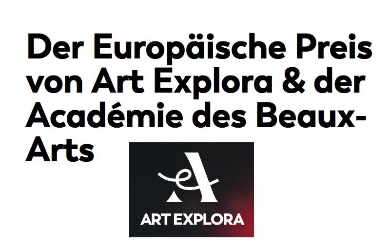 Der Europäische Preis von Art Explora