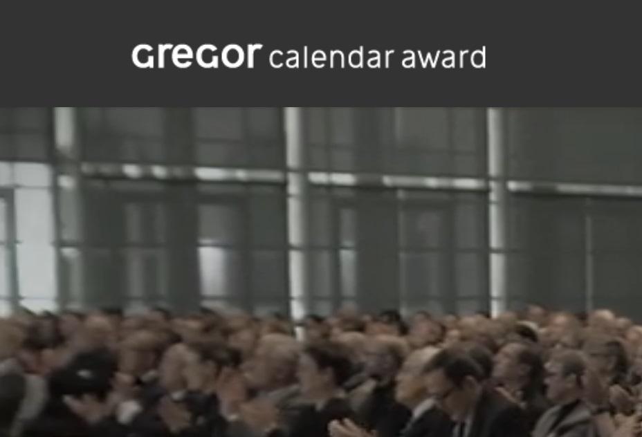 Gregor Calendar Award