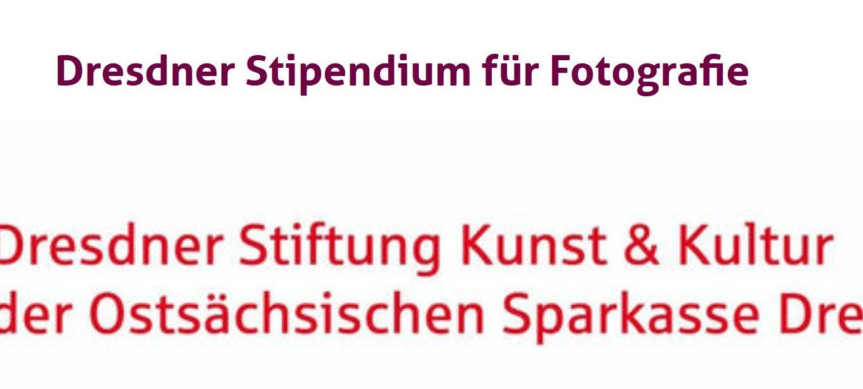 Dresdner Stipendium für Fotografie
